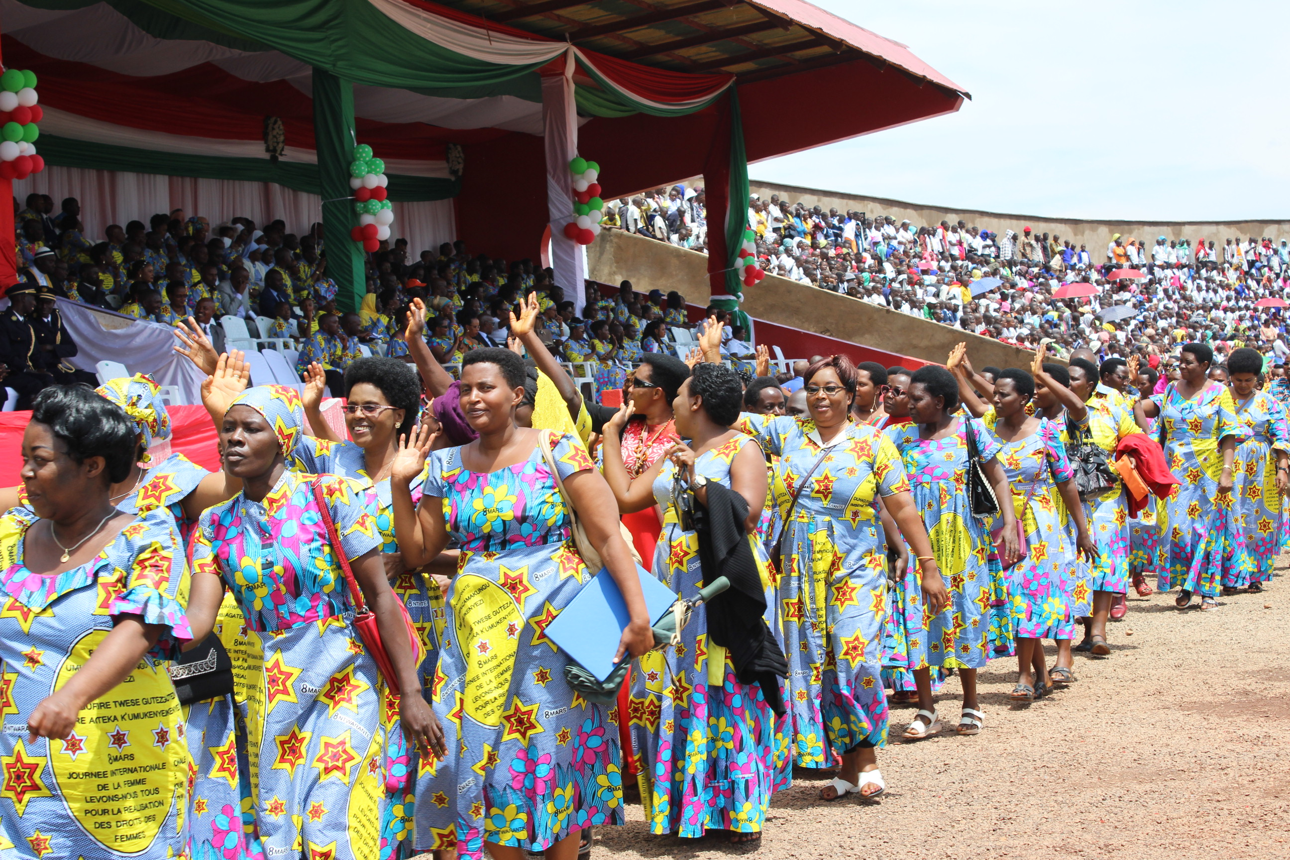Burundi : Célébration officielle de la Journée internationale de la femme