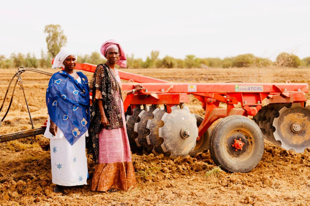 Women from REFAN, main beneficiaries of PAF/Agrifed and partners in the COVID-19 response. Photo: Yulia Panevina/BNP Paribas