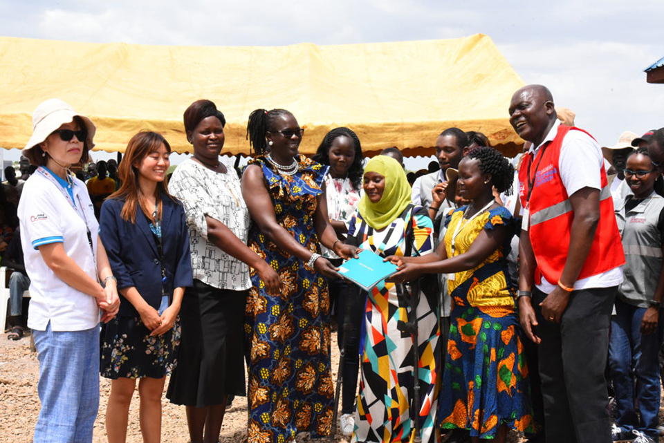 The Women's Empowerment Centre will provide services for thousands of refugees in Kalobeyei