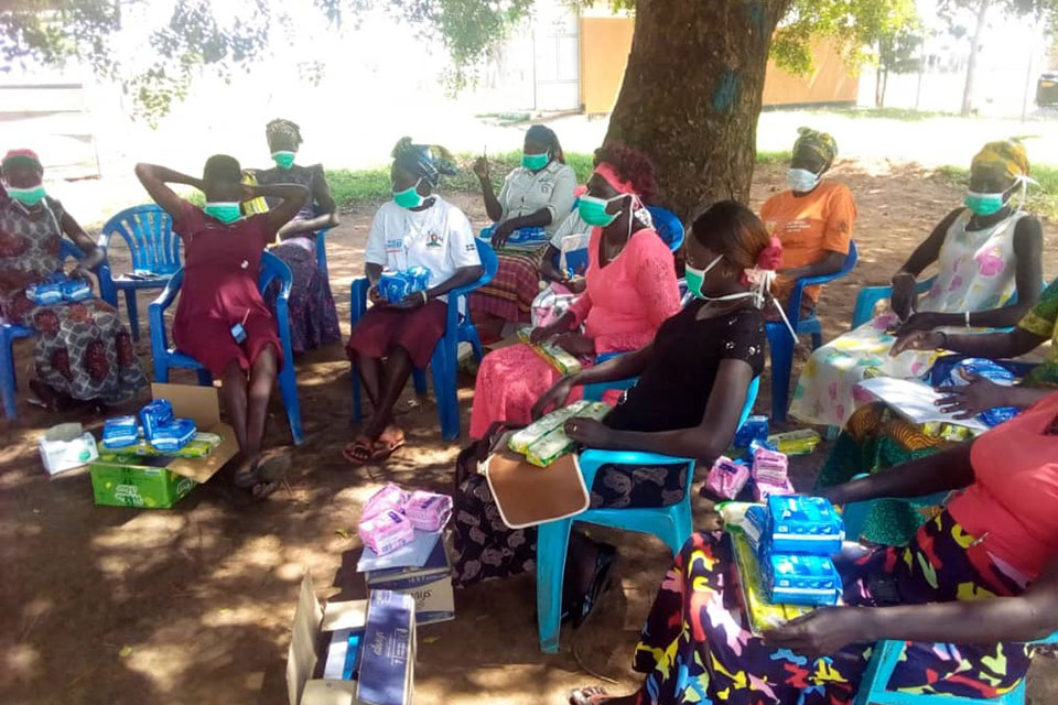 UN Women Promotes Women's Participation as key Actors on the Front lines of COVID-19 Prevention in Refugee Settlements in Uganda