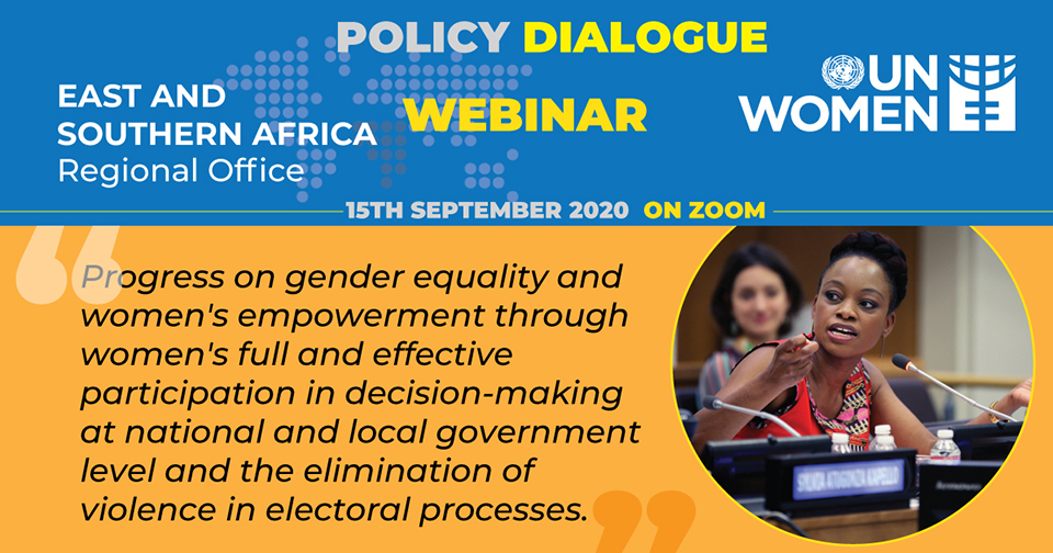 UN Women to hold a policy dialogue to assess progress on gender equality and women's empowerment