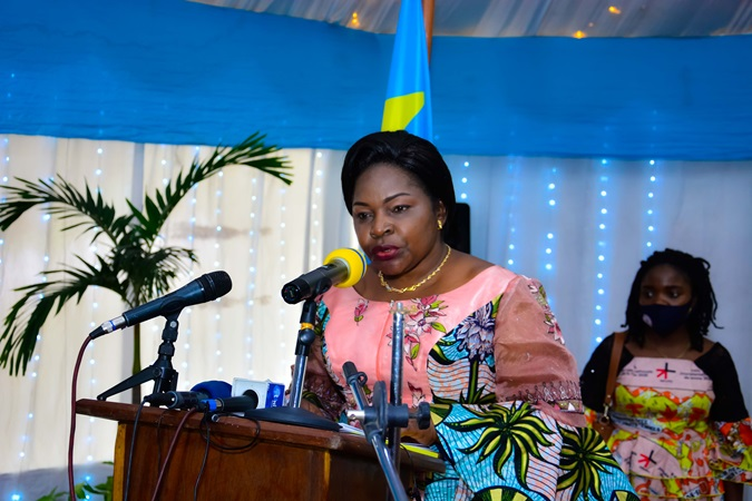 Excellency Mrs. Béatrice Lomeya, Minister of Gender, Family and Children, DRC
