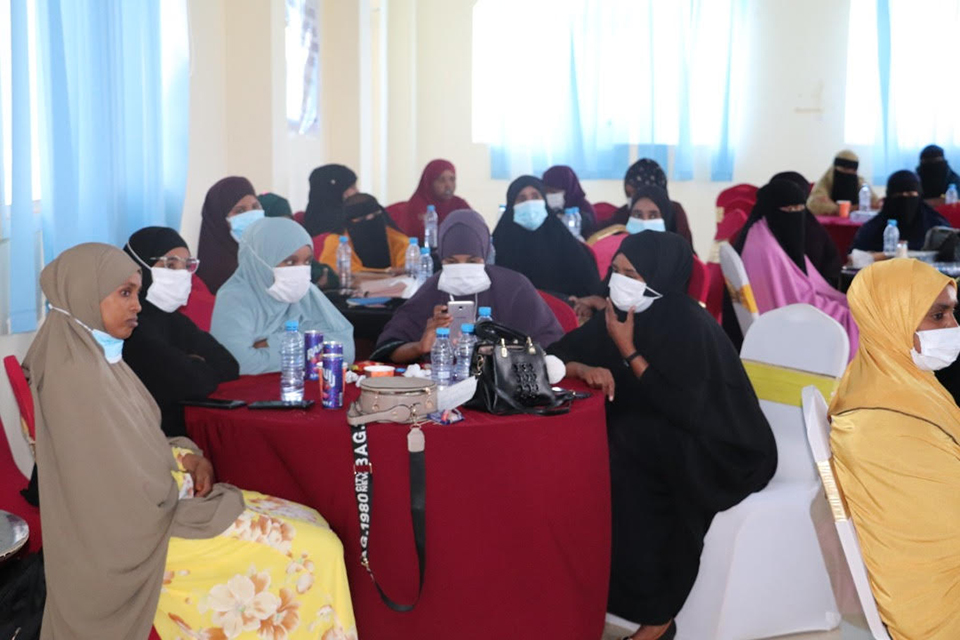 Ministry of Justice Puntland Commitment to Promoting Women in Legal Profession and Judiciary