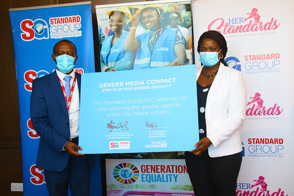 Kenyan media powerhouse commits to new partnership for women's empowerment