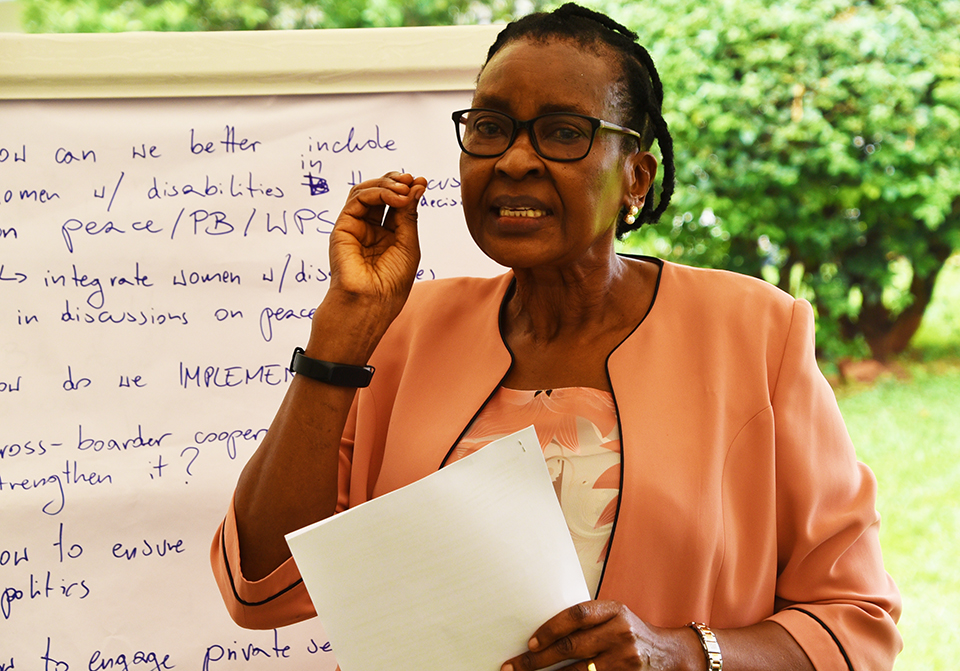Robinah Rubimbwa, is the Executive Director of Coalition for Action on 1325 (CoACT), an implementing partner of UN Women in Uganda