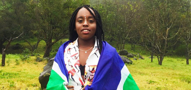 Munnira Katongole is a young South African activist fighting for social change