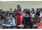 Young academics pledge to be Generation Equality and promote women's leadership during Women's Month in Burundi