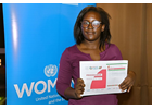 I am Generation Equality: Immaculate Akello, climate change activist and lawyer standing up for rural women in Northern Uganda