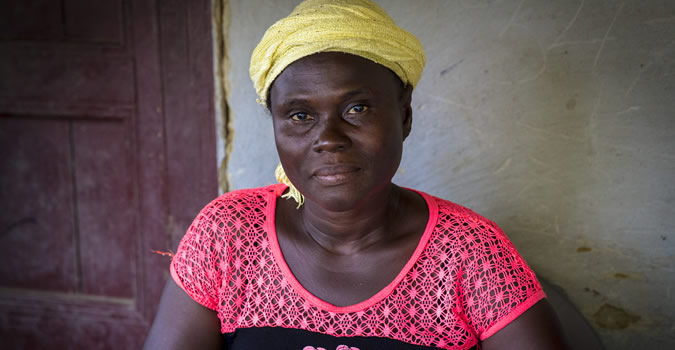 Psychological and social work with survivor and affected families in Liberia. (Photo: UN Photo/Martine Perret.)