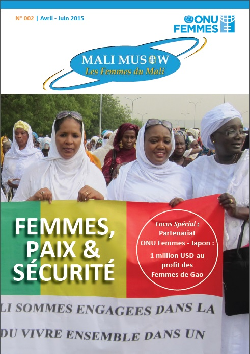 Mali April - June newsletter cover