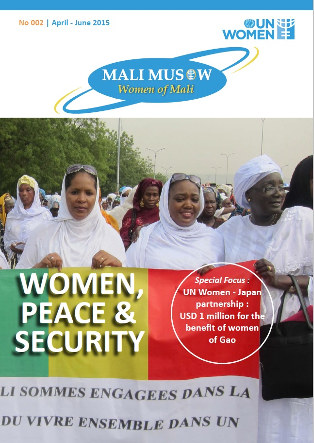 UN Women Mali April - June 2015 newsletter