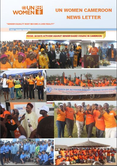 UN Women Cameroon newsletter of December - January 2016