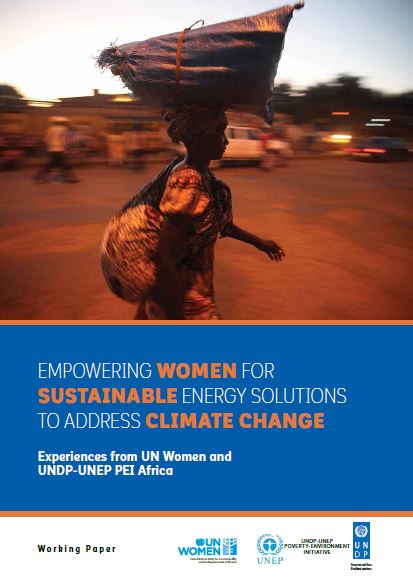 Empowering women for sustainable energy solutions to address climate change