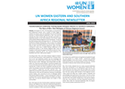 UN Women Eastern and Southern Africa Regional newsletter of April 2016