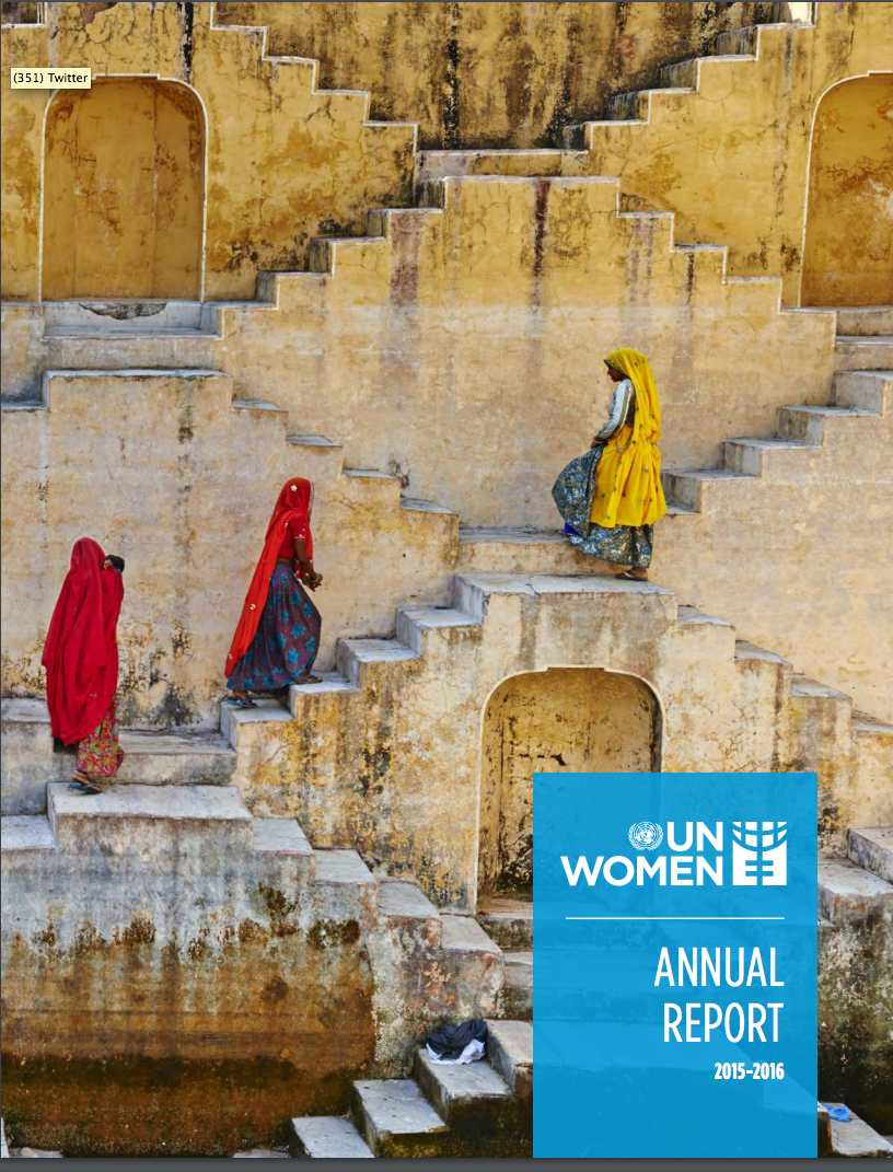 UN Women Annual Report 2015-2016