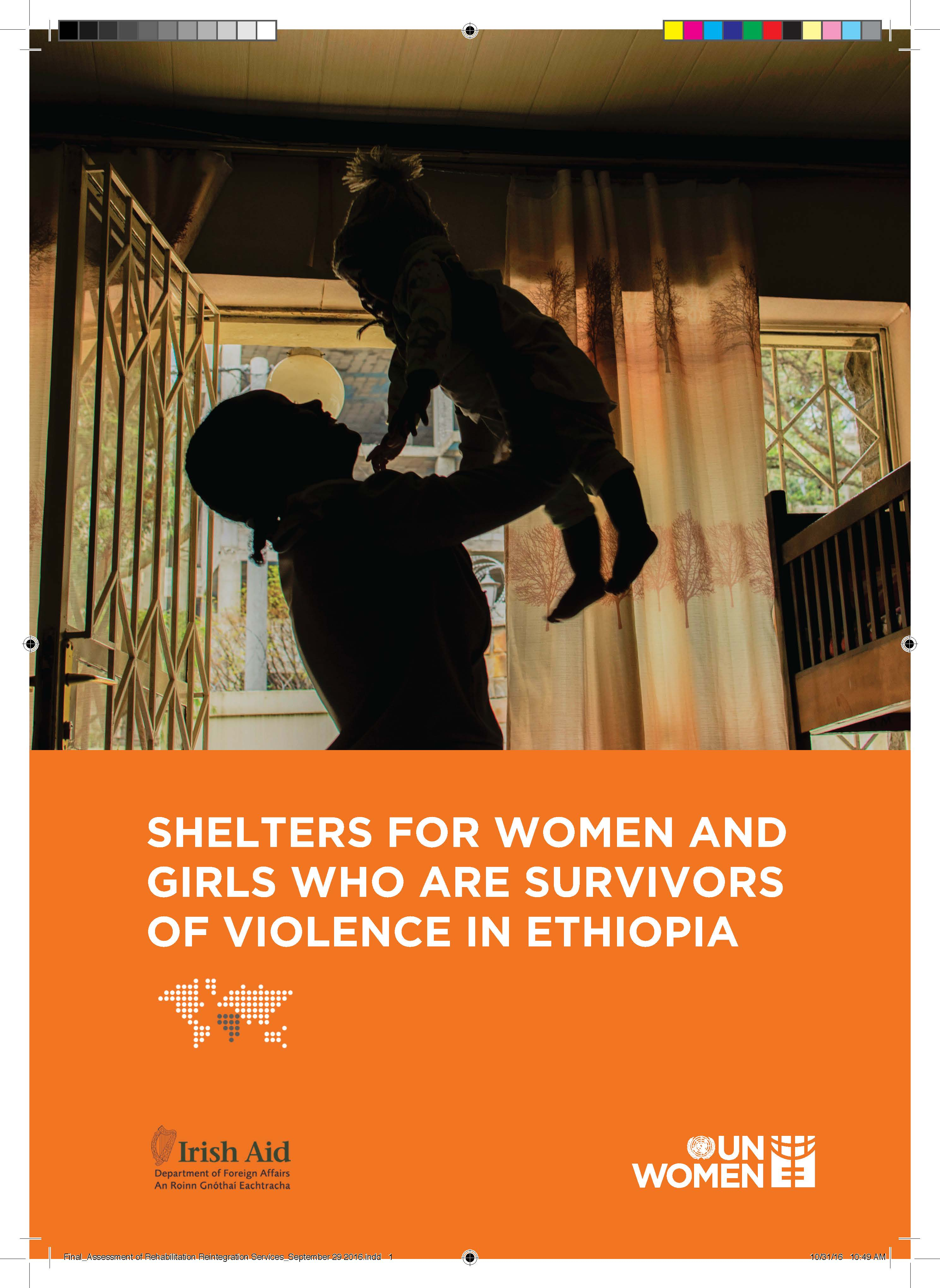 Shelters for women and girls who are survivors of violence in Ethiopia