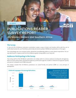Reader survey factsheet
