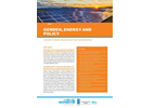 A  review of energy policies in East and Southern Africa