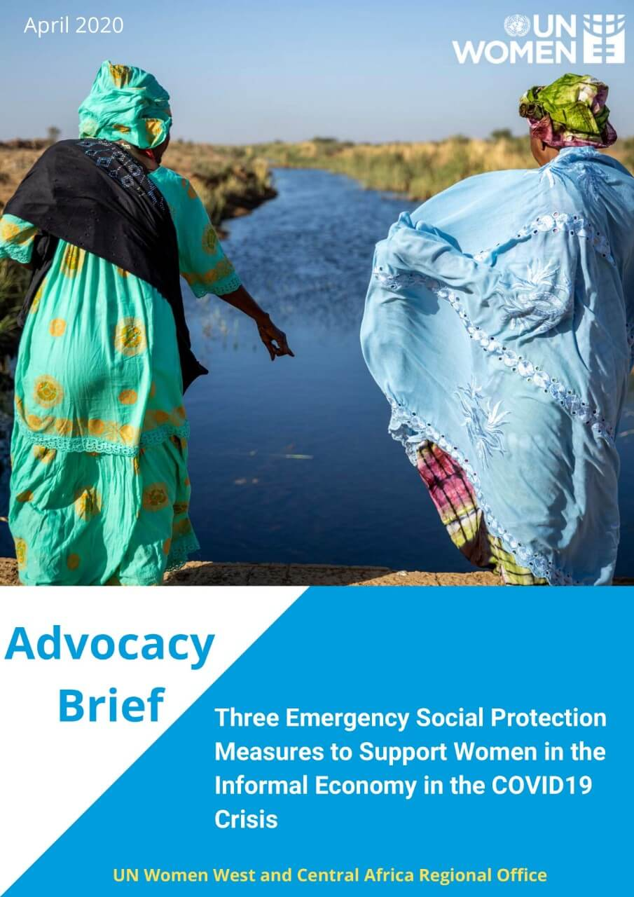 Advocacy brief: Three emergency social protection measures to support women in the informal economy in the COVID-19 crisis