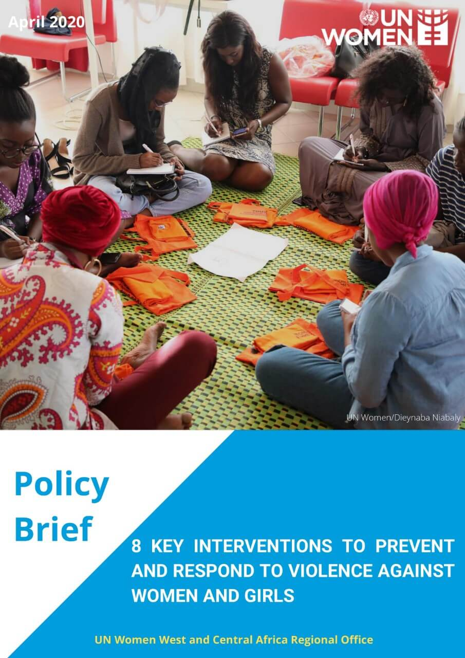 THE KEY INTERVENTIONS TO PREVENT AND RESPOND TO VIOLENCE AGAINST WOMEN AND GIRLS