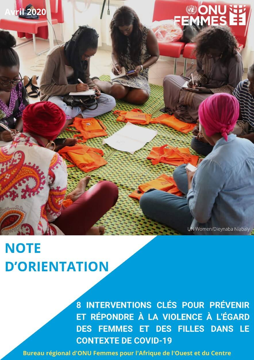 EVAW Note d'orientation