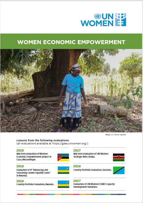UN Women ESARO Evaluation knowledge products series 2020