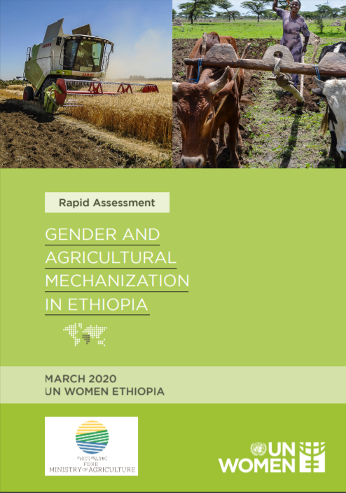 Gender and agricultural mechanization in Ethiopia- Rapid Assessment