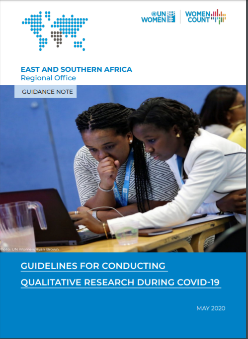 Guidance Note for conducting Qualitative  Research during COVID-19