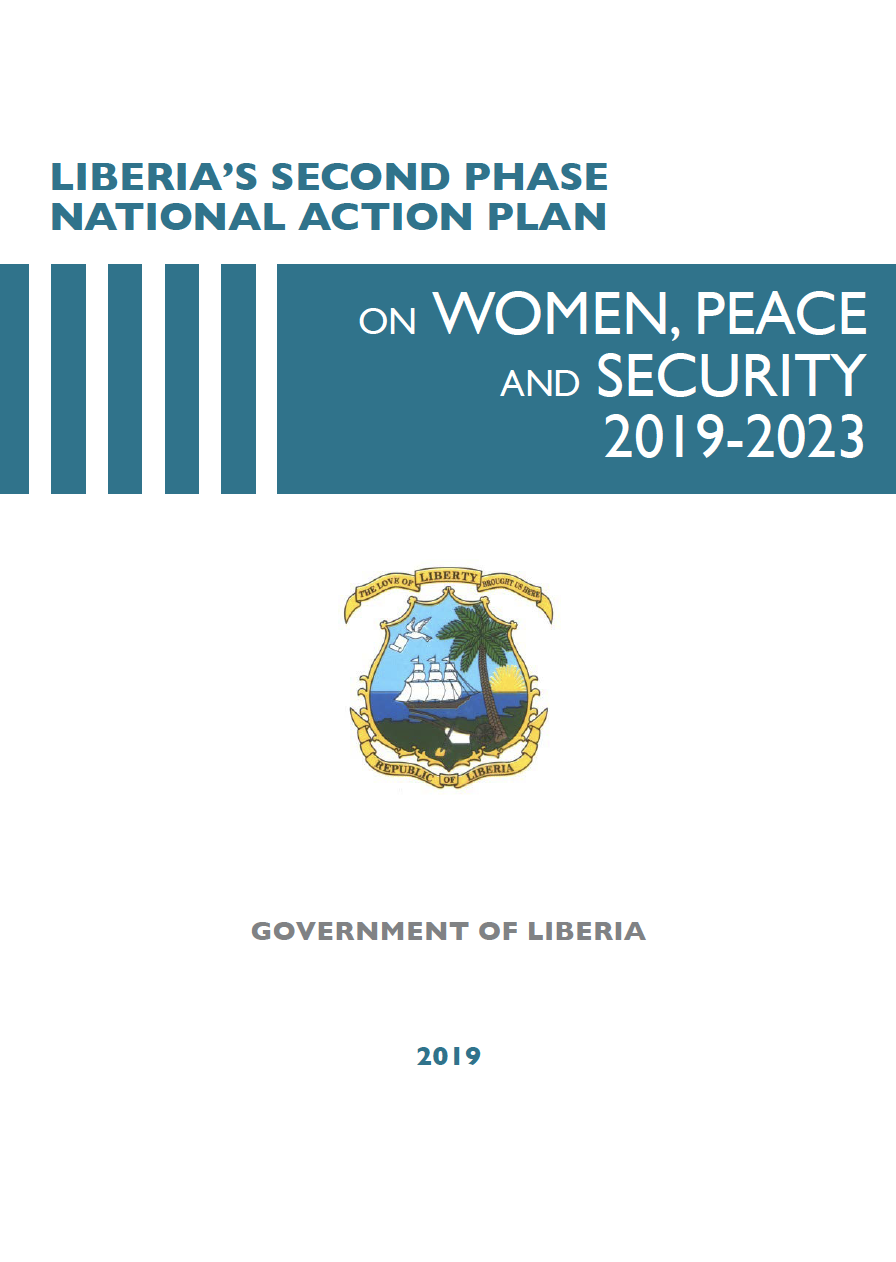 LIBERIA'S SECOND PHASE OF THE NATIONAL ACTION PLAN ON WOMEN, PEACE AND SECURITY