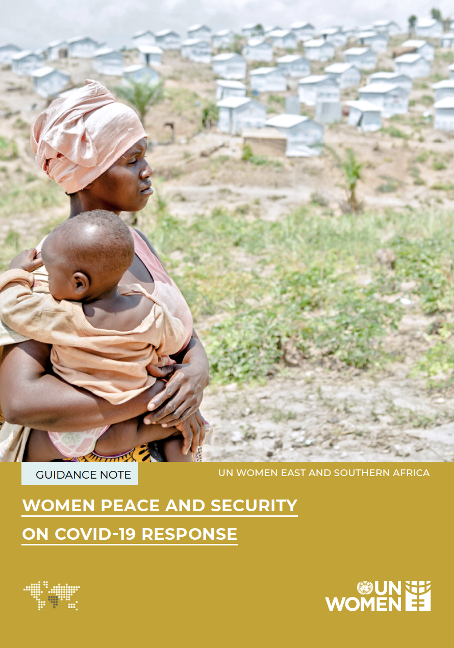 WOMEN PEACE AND SECURITY ON COVID - 19 RESPONSE