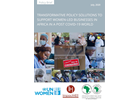 TRANSFORMATIVE POLICY SOLUTIONS TO SUPPORT WOMEN LED BUSINESSES IN AFRICA IN A POST COVID 19 WORLD
