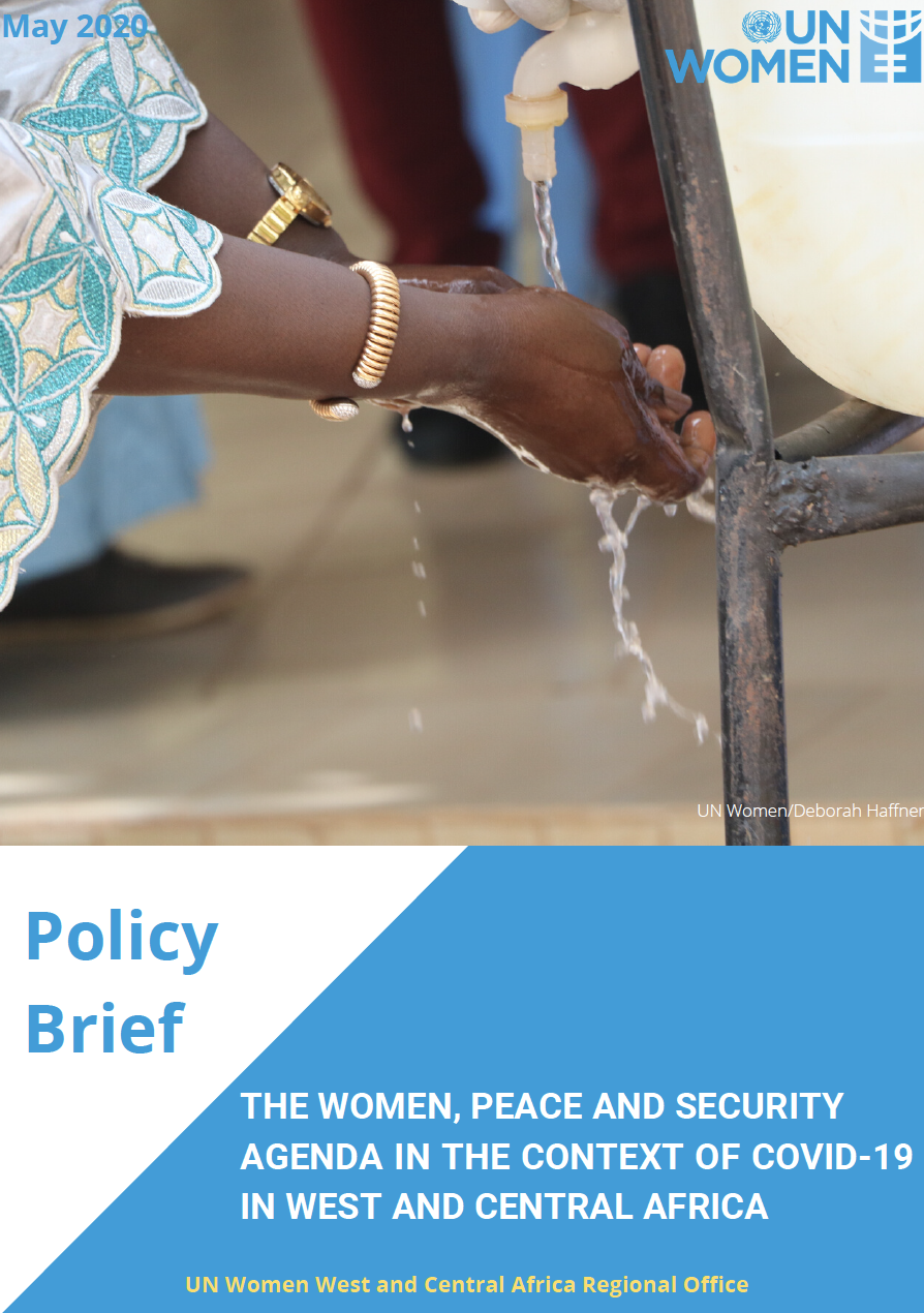 THE WOMEN, PEACE AND SECURITY AGENDA IN THE CONTEXT OF COVID-19 IN WEST AND CENTRAL AFRICA