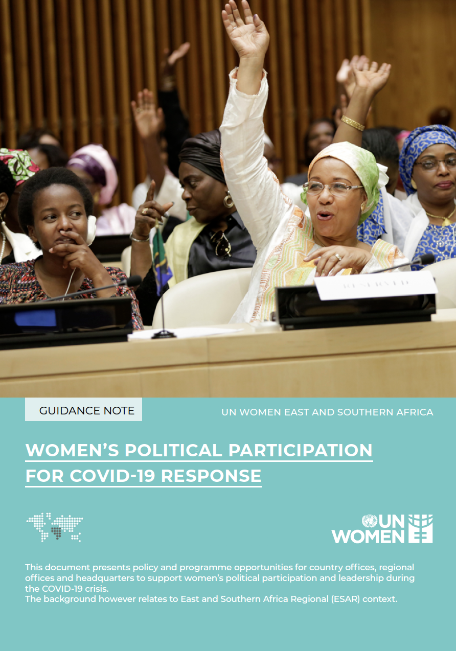 WOMEN'S POLITICAL PARTICIPATION FOR COVID - 19 RESPONSE