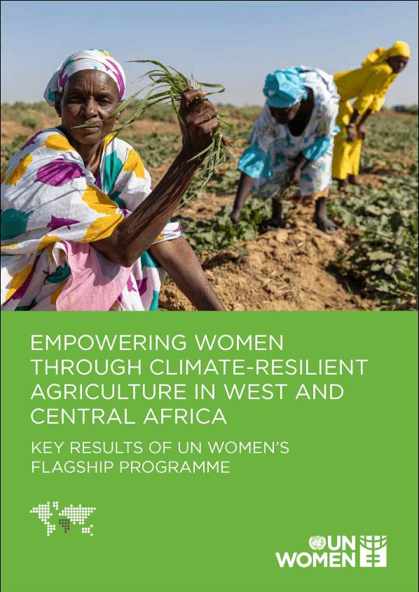 Women in Climate Resilient Agriculture in WCA