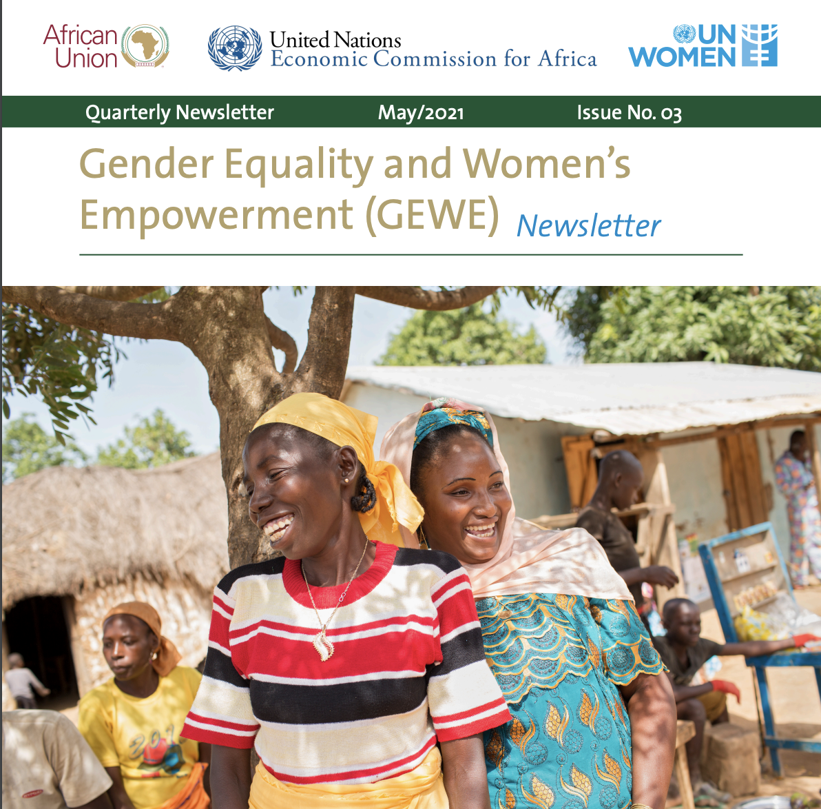Gender Equality and Women's Empowerment (GEWE) Quarterly Newsletter