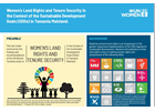 Women's Land Rights and Tenure Security in the Context of the Sustainable Development Goals
