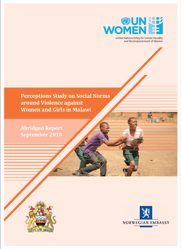Perceptions Study on Social Norms around Violence against Women and Girls In Malawi-Abridged Report