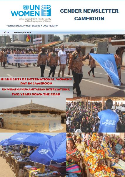 Gender Newsletter Cameroon of March-April 2016