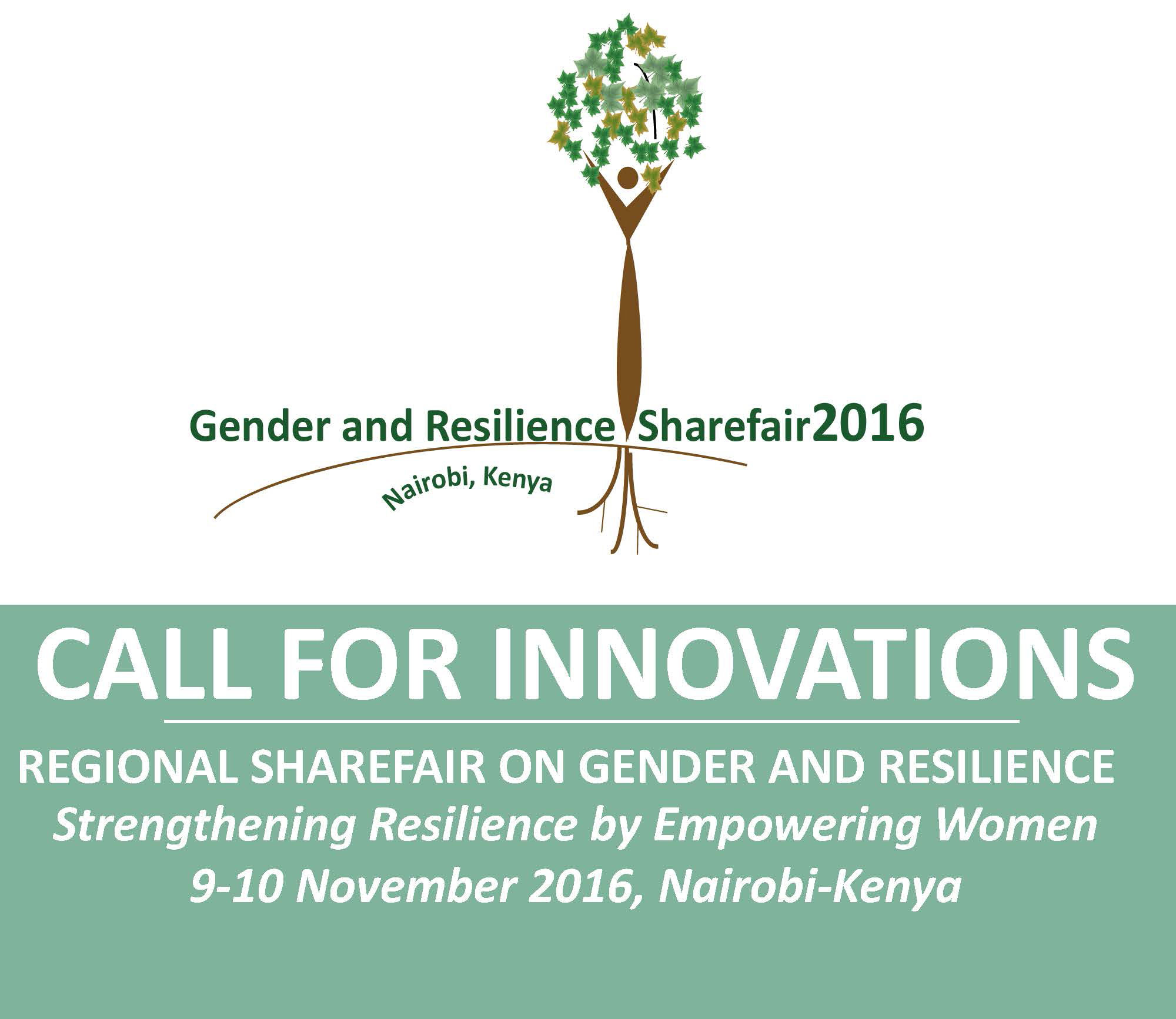Call for Innovations: 2016 Regional ShareFair on Gender and Resilience