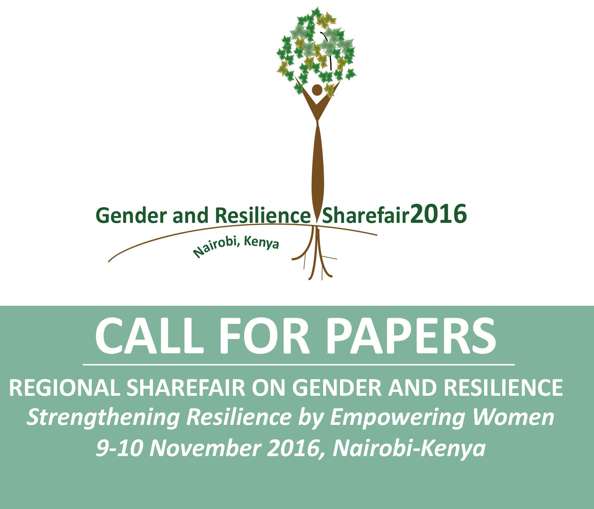 Call for Papers: 2016 Regional ShareFair on Gender and Resilience