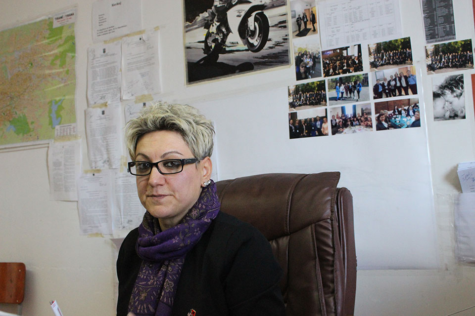 Luisita Shqypi, Crime Police Officer. Photo: UN Women Albania