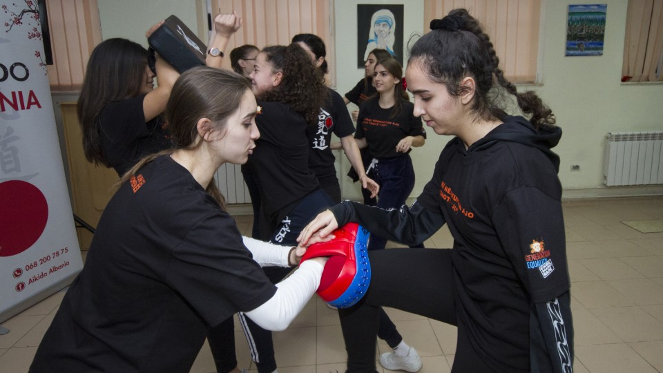 Changing the conversation for girls in Albania: from victim-blaming to self-confidence