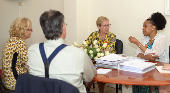 Coverage UN Women Regional Director for Europe and Central Asia in Albania