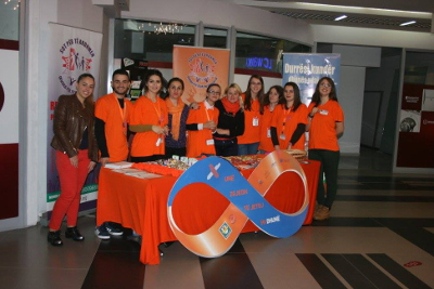 Durres, civil society in Albania joins global call to raise funds to end violence against women Photo credit: Community Center NGO