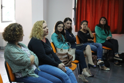 Women entrepreneurs participating at the training on business plans. Photo: UN Women Albania/Yllka Parllaku