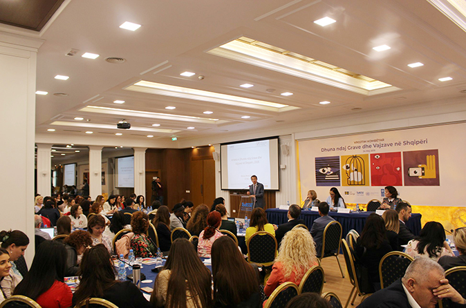 Launching of Violence Against Women and Girls National Population Survey. Photo: Institute of Statistics in Albania