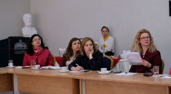 Civil society and government institutions during the consultation process of the national report.
