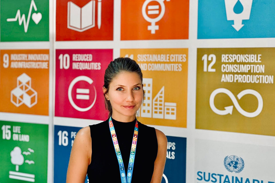 Aliénor Béjannin UN Youth Volunteer in Programme Management and Coordination at UN Women Albania Country Office