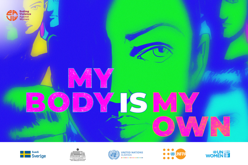 """""""My body is my own"""" – UN Women and UNFPA launch art initiative with youth in Albania to promote bodily autonomy"""