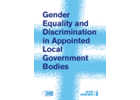 Gender Equality and Discrimination in Appointed Local Government Bodies